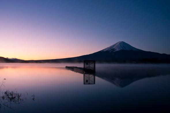 Amanecer del Monte Fuji 2011
