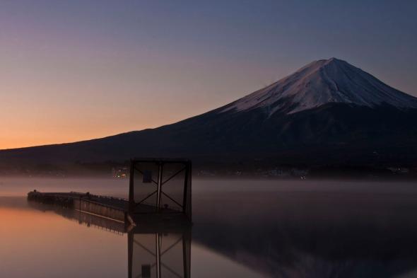 Fuji de amanecer