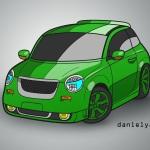 danielyara_design k-car deportivo